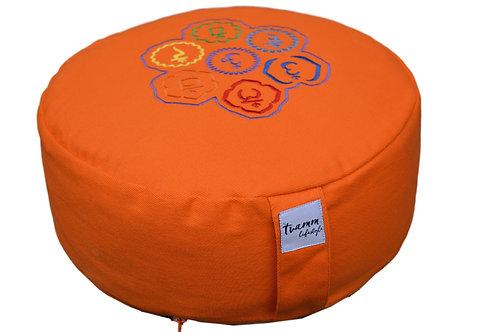 Tvamm Lifestyle Meditationskissen Zafu (Orange)