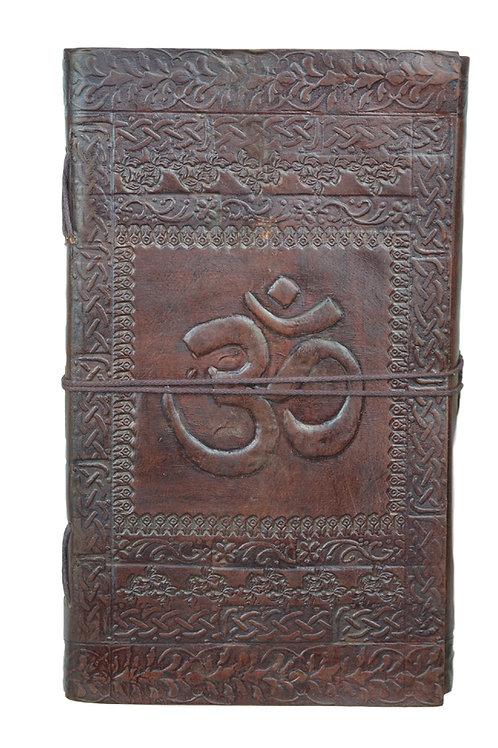 Leder Persönliches Journal Notizbücher- OM 03