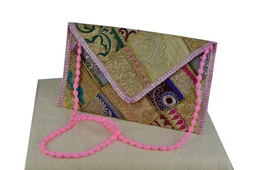 Indische handgefertigte Tasche Clutch-04