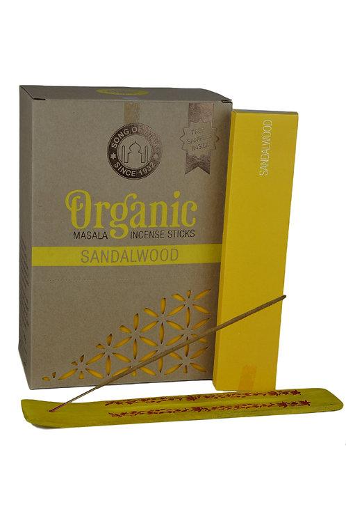 Räucherstäbchen Organic Sandalwood