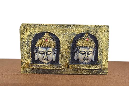 Buddha Teelicht Halter (Golden)