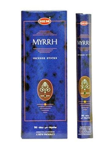 Hem Myrrh Räucherstäbchen