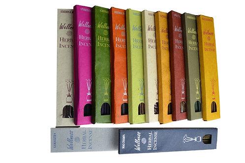 Räucherstäbchen Herbal Incense set of 12