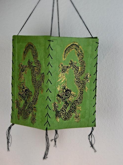 Nepalesische handgemachte Lokta-Papier Lampe
