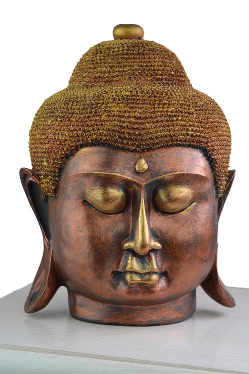 Großer Buddha Deko Kopf Figur Neu - Model 1