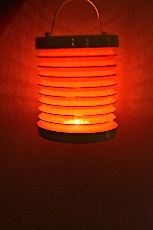 Teelicht Rund Lampe (Orange)
