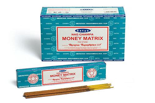Satya Money Matrix Räucherstäbchen