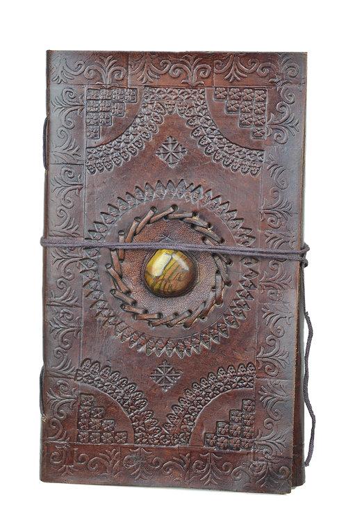 Leder Persönliches Journal Notizbücher-Model 09