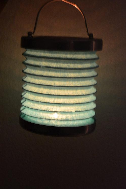 Teelicht Rund Lampe (Blau)