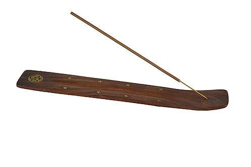 Räucherstäbchenhalter aus holz (OM)