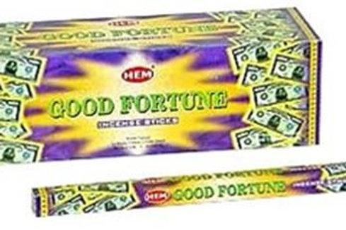 Räucherstäbchen Good Fortune