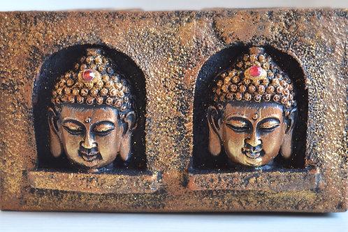 Buddha Teelicht Halter (Copper)