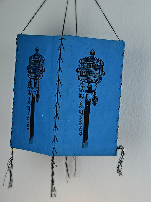 Prayer Wheel - Blau