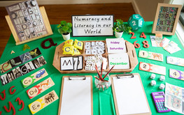 Literacy activity at Doncaster East Daycare & Kindergarten servicing the areas of Blackburn, Mitcham and Templestowe.