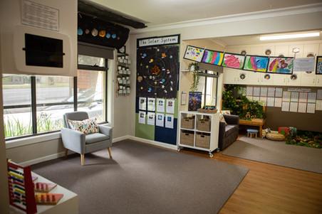 Kindergarten room at Doncaster East Daycare