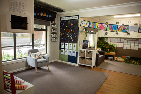 Kindergarten room at Doncaster East Daycare