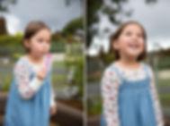 Child blowing bubbles at Kindergarten photography Melbourne