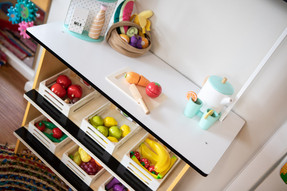 Kitchen area for imaginative play