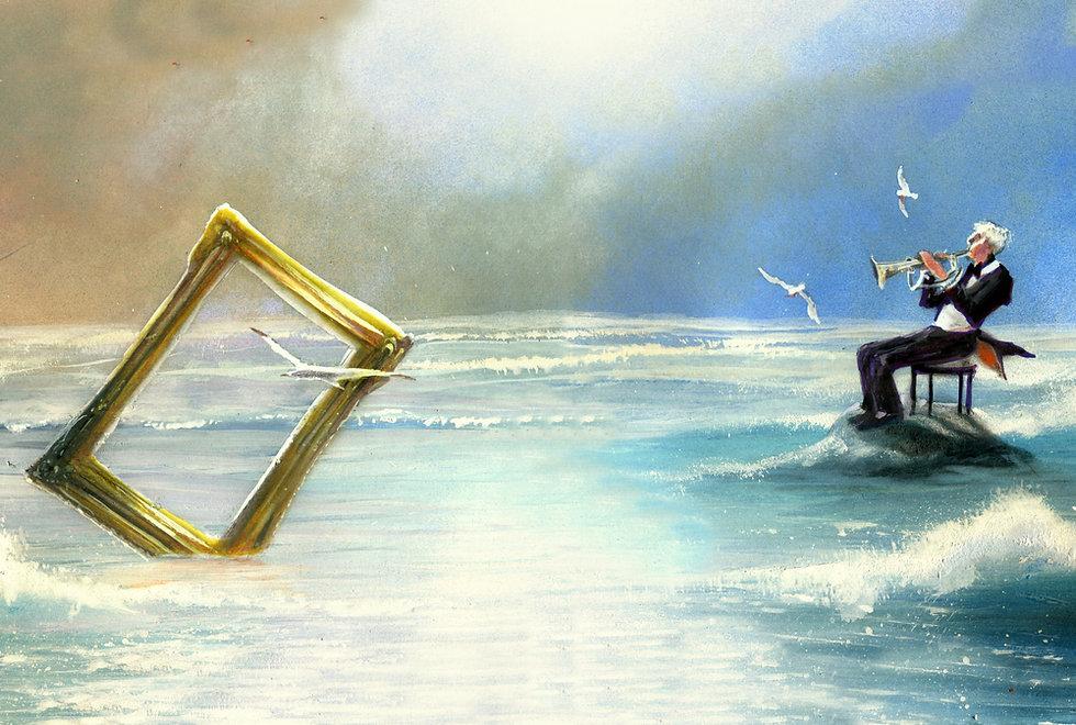 Obra do artista plástico Sergio Ricciuto Conte