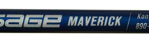 Sage's New  Maverick Saltwater Series Rods