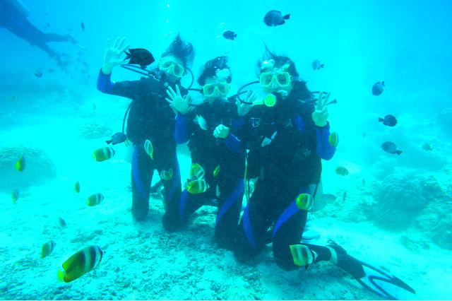 체험다이빙 3