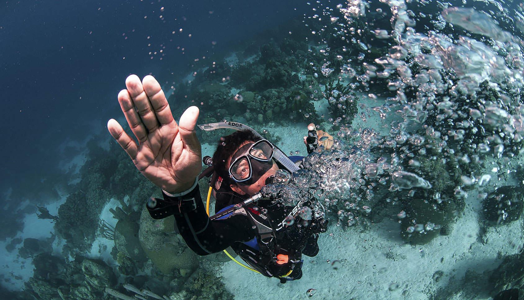 체험다이빙 4
