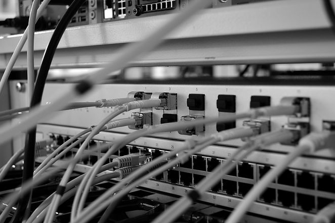 Unifi 16XG switch in homelab rack_edited