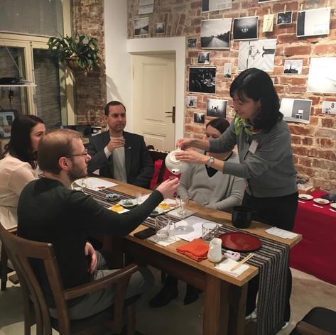 Japanese 9 different TEA tasting by Urasenke license holder