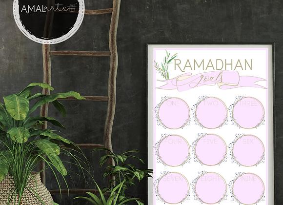 Ramadhan Goals Planner