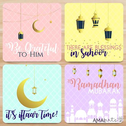 Ramadhan Themed Coaster