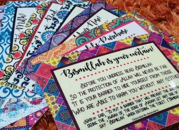 Forgotten Sunnah Cards