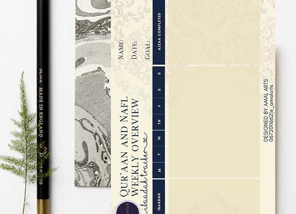 Qur'aan and Nafl Ibadah Tracker
