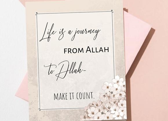 Make Life Count