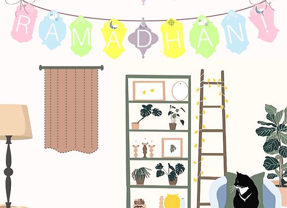 It's Ramadhan! Bunting
