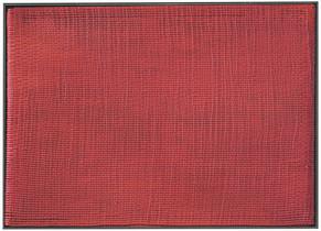 Silikone Rot, 2006, 139x100cm