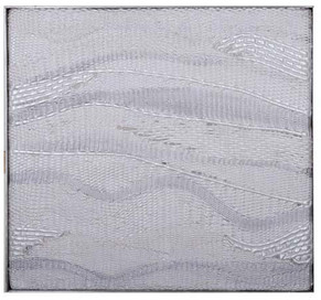 Flug, Guggenheimmuseum New Yor, 2005,58x62cm Silikon, Perlacryl,