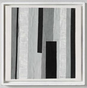 Strip-Cut-Collage, work 89, 2010, 40x40cm