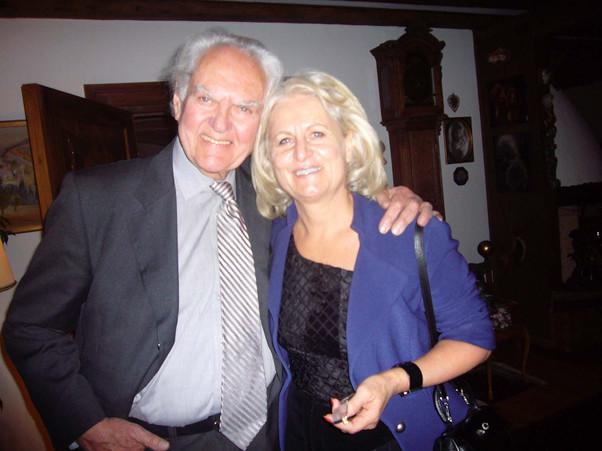 Hilmar Hoffmann und Monika Fioreschy
