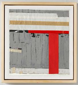 Strip-Cut-Collage, work 45, 2015,61x56,5cm