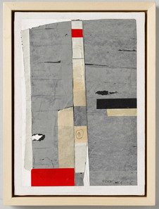Strip-Cut-Collage, work 40, 2015, 45x32cm