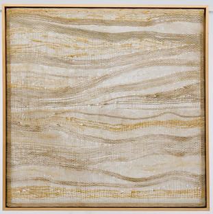 Goldene Adern 2014 146x146cm