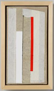 Strip-Cut-Cocllage, work 41, 61x26cm