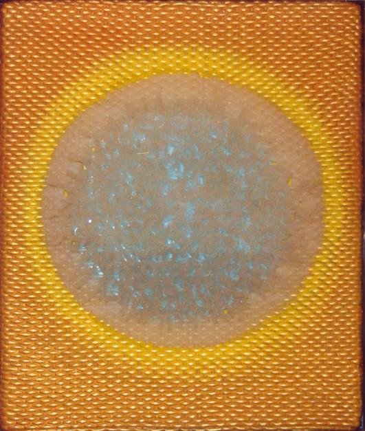 Gelber Planet, 2002, 61x51cm