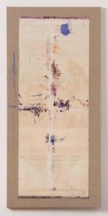 Oil-Cut Nr. 21, 2017, 81x171cm