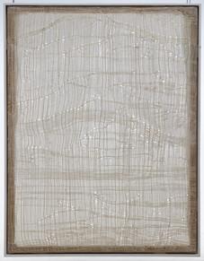 Fließen, Farbtransfusion 1995, 160x130cm