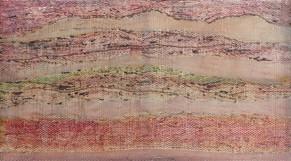 """""""Aus meinem Garten"""",Chlorophylltransfusion, 1998, 82x101,5cm"""