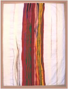 Bildteppich: Kraftströmung, 1990, 347x272cm