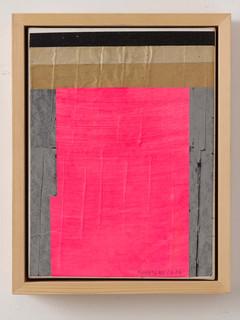 Strip-Cut-Collage Nr. 3, 2016, 45x35cm