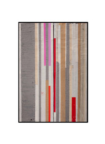 Strip-Cut-Collage, work 34, 2010, 162x113cm