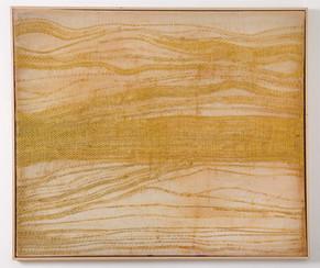 Goldmäander 2012-2018  144x170cm